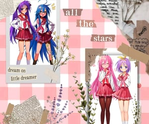 anime, lucky star, and anime girl image