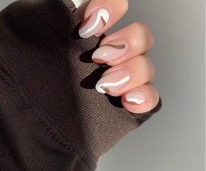 nails, aesthetic, and nail art image