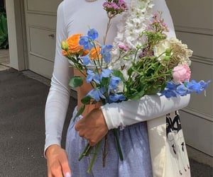 beauty and flowers image