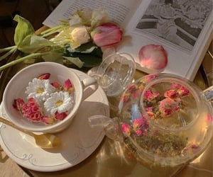 tea, drink, and aesthetic image
