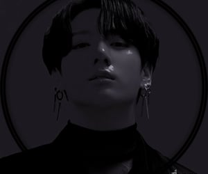 aesthetics, monochrome, and jungkook image