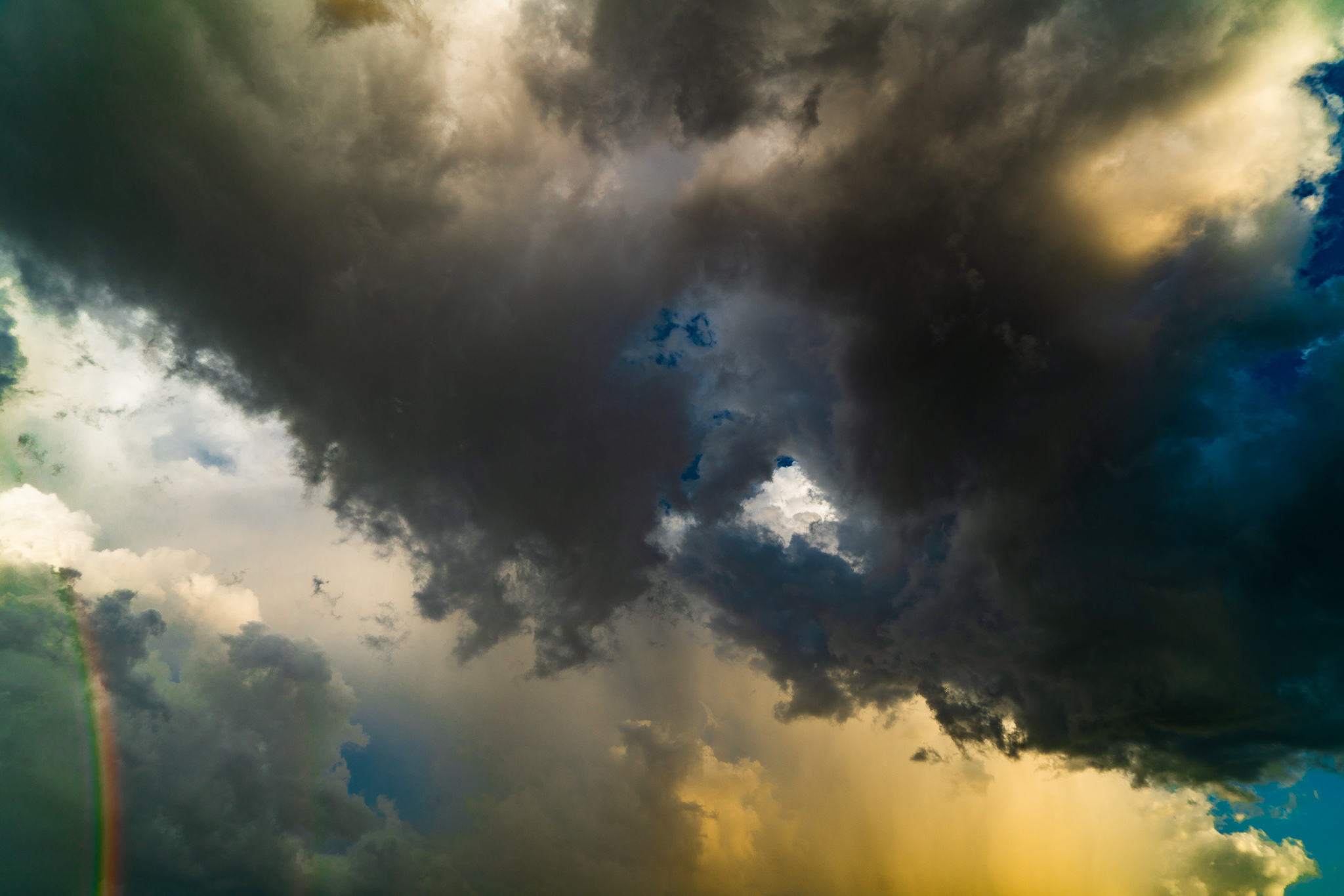 rain, Texas, and clouds image