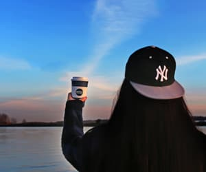 day, peaceful, and cupofcoffee image