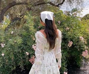 dress, fashion, and cottagecore image