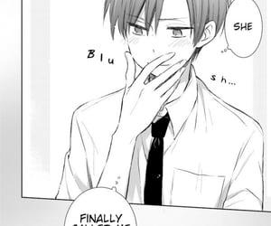 blush, cute, and manga image