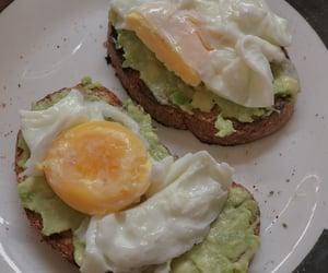 breakfast, huevo, and egg image