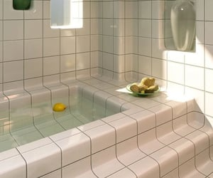 bath, aesthetic, and design image