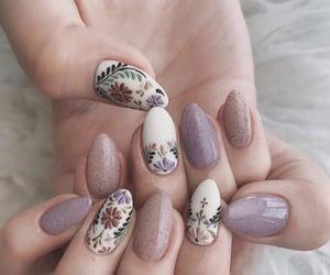 nails, beauty, and moda image