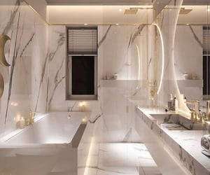 bathroom, home, and decor image