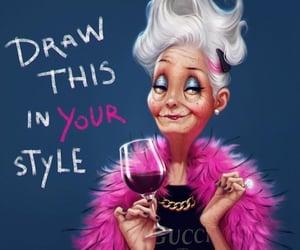 cartoon, dibujo, and divertido image
