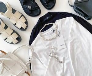 casual, channel, and handbag image