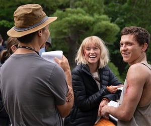 tom holland, daisy ridley, and chaos walking image