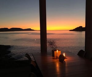 dreamy, luxury, and sunset image