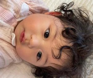 babies, baby, and cheeks image