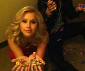 cast, claire holt, and tvd image