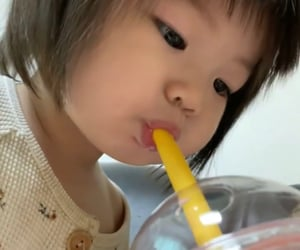 drink, smoothie, and babies image