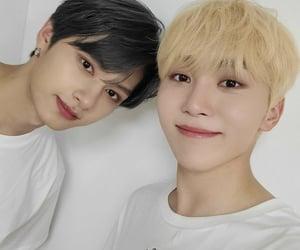 boo, jun, and Seventeen image