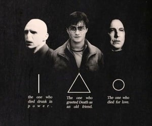 deathly hallows, harry potter, and power image