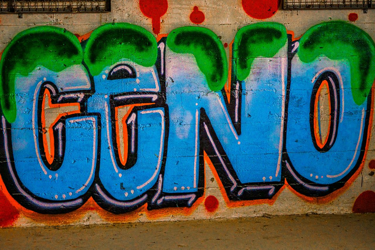 abandoned, street art, and graffiti image