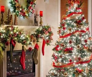 christmas, holidays, and christmas lights image