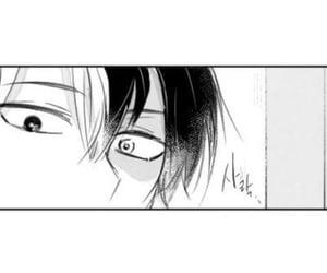 anime, manga, and white and black image
