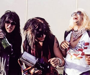 80s, drink, and hair metal image