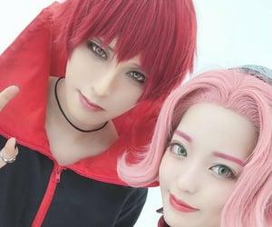 akatsuki, cosplay, and haruno sakura image