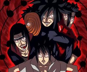 akatsuki, itachi, and sasuke image