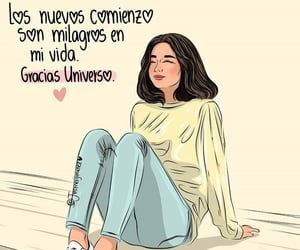universo, milagros, and comienzos image