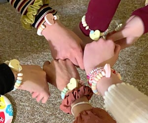 friendship, girlie, and girls image