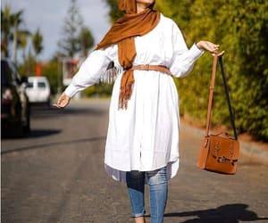 chemise, hijab, and shirt image