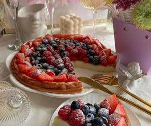 blueberry, cake, and pastel image