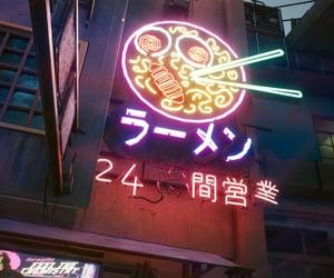cyberpunk, glow, and neon image