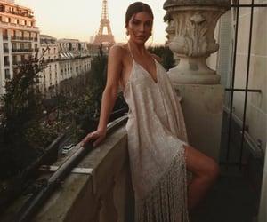 dress, fashion, and fringes image