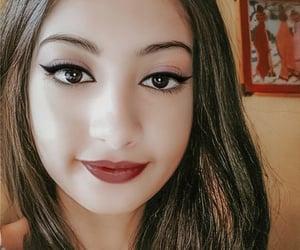 beauty, eyelashes, and pagan image