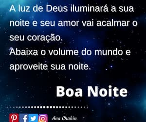 noite, frases, and posts image