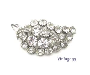 vintage brooch, vintage fashion, and fall brooch image