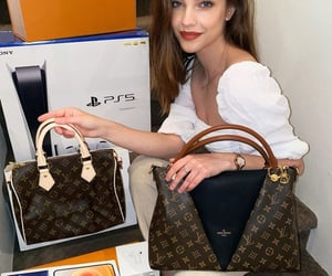 beautiful, girl, and Louis Vuitton image