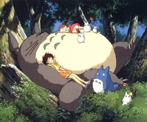 anime, totoro, and ghibli image
