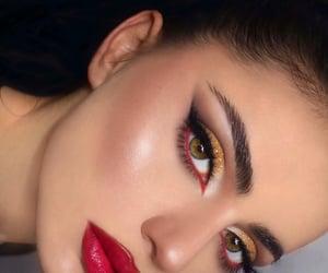 eyes, glitter, and inspo image
