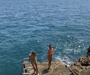bikini, inspo, and swimming image
