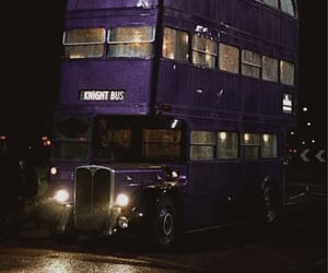 harry potter and knight bus image