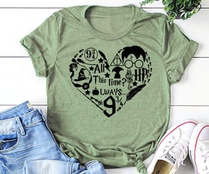 casual, harrypotter, and tees image