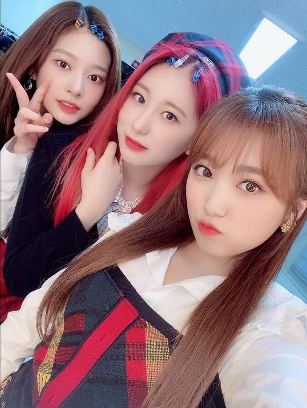 kpop, chaeyeon, and minju image