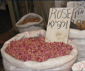 bag, prices, and rose petals image