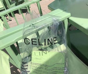 green, celine, and aesthetic image