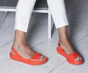 flat sandals, summer sandals, and flat sandal image