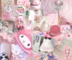 kawaii, anzu futaba, and pink aesthetic image