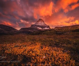 Glacier National Park and mountain image