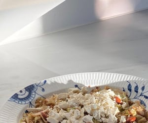 cheese, delicious, and feta image